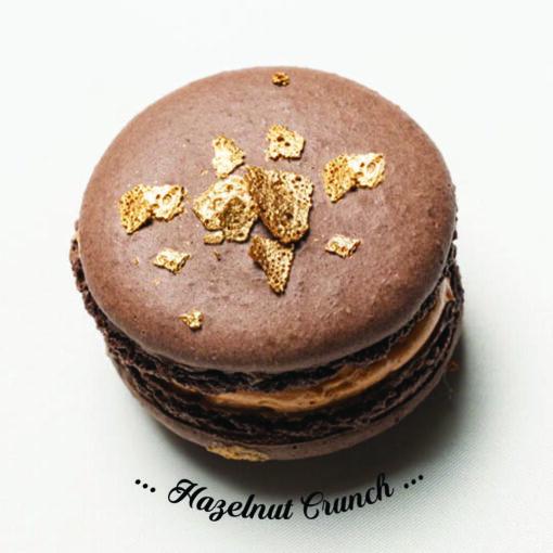 Hazelnut Crunch Macaron