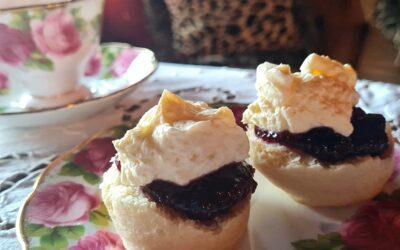 Jam first or cream first? The greatest debate in high tea heaven.